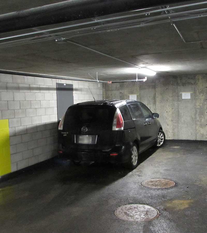 Stationnement souterrain-Havres Urbains-Penthouse 611