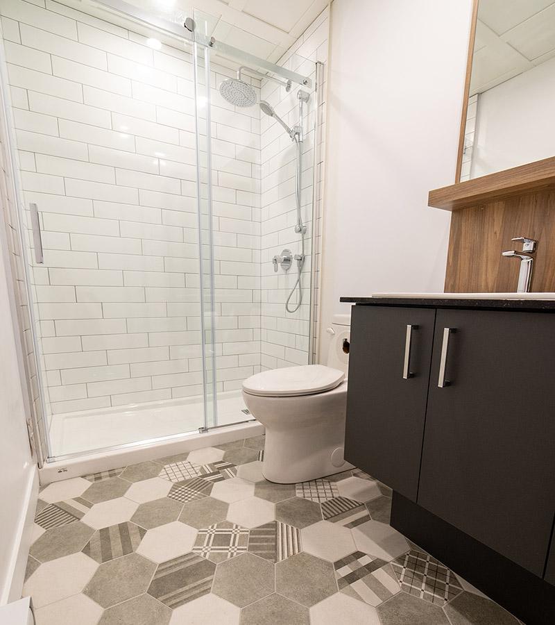 Salle de bain 1-Havres Urbains-Penthouse 401