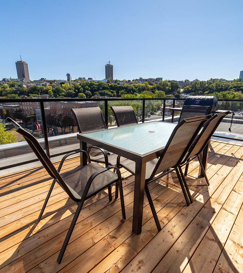 Private terrace-Havres-Urbains-Penthouse 611